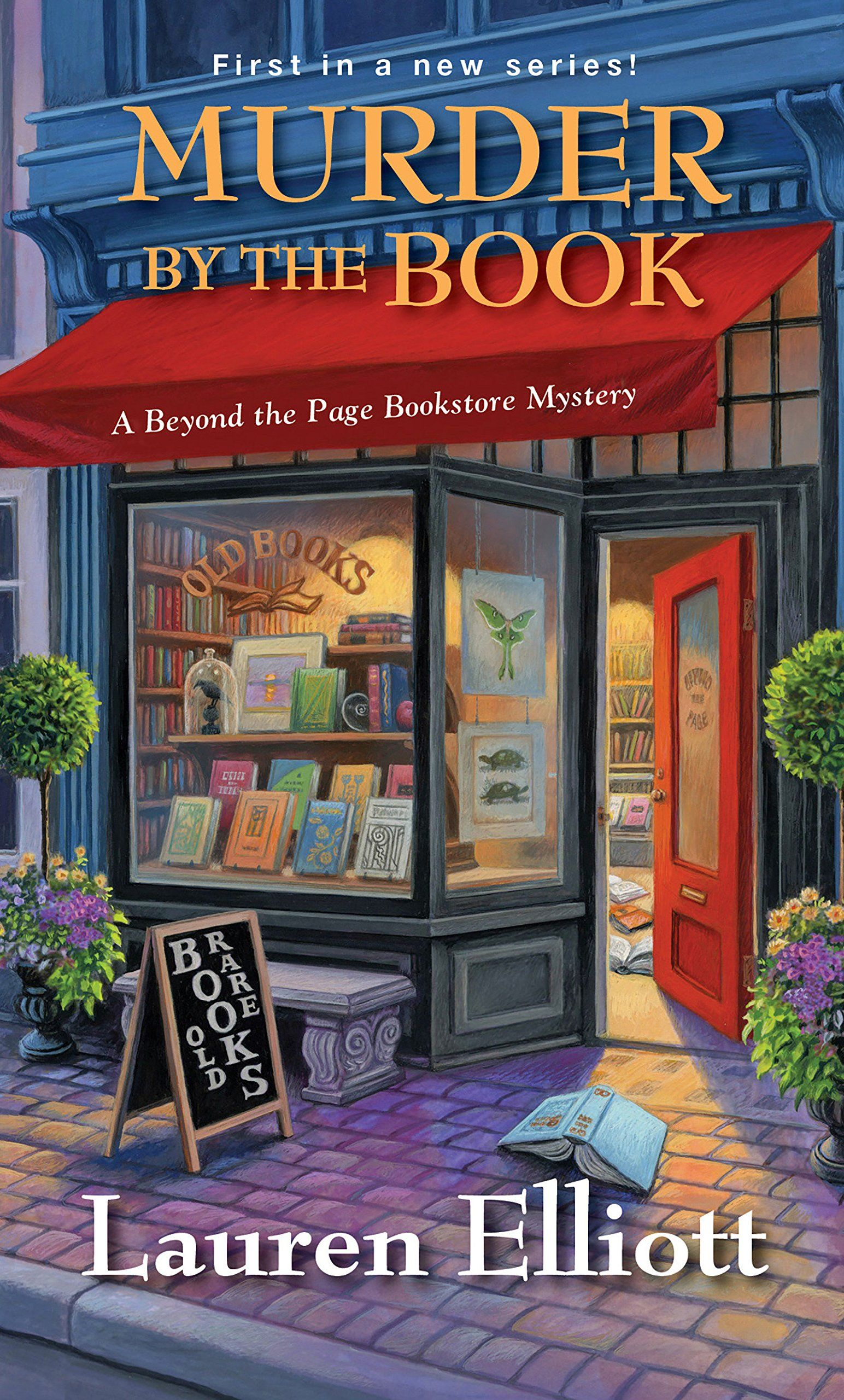 Murder by the Book by Lauren Elliot Clean Cozy Mystery Book Review is part of Cozy mystery book, Cozy mysteries, Mystery book, Cozy mystery books, Books, Mystery books - I love finding brand new cozy mystery book series  Murder by the Book by Lauren Elliot is Book One in the Beyond the Page Bookstore Mystery Series
