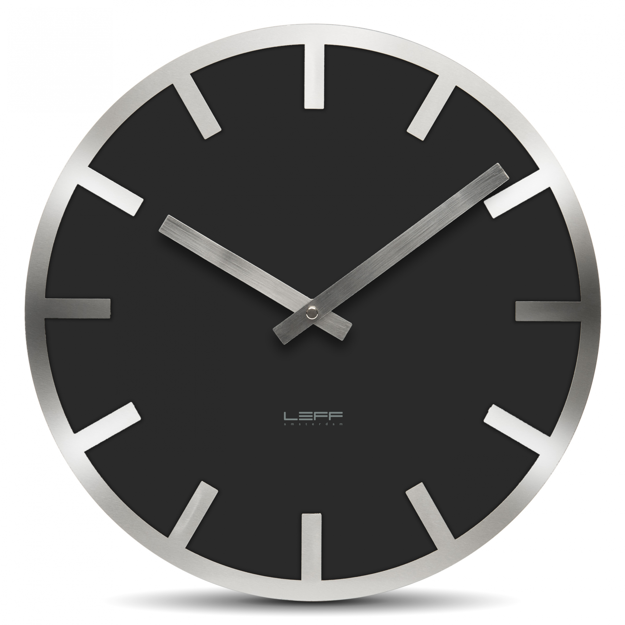 Zegar ścienny LEFF Metlev35 Black Index   LEFF Amsterdam   DECO Salon  #wallclock #clock