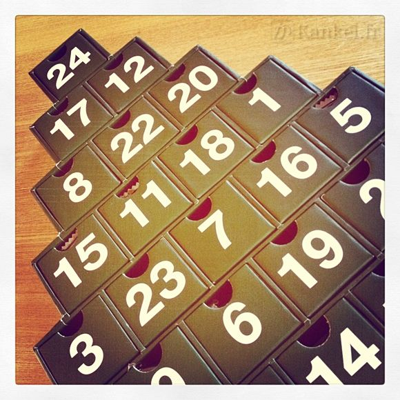 Noël approche, craquez pour le calendrier de l'Avent Muji !