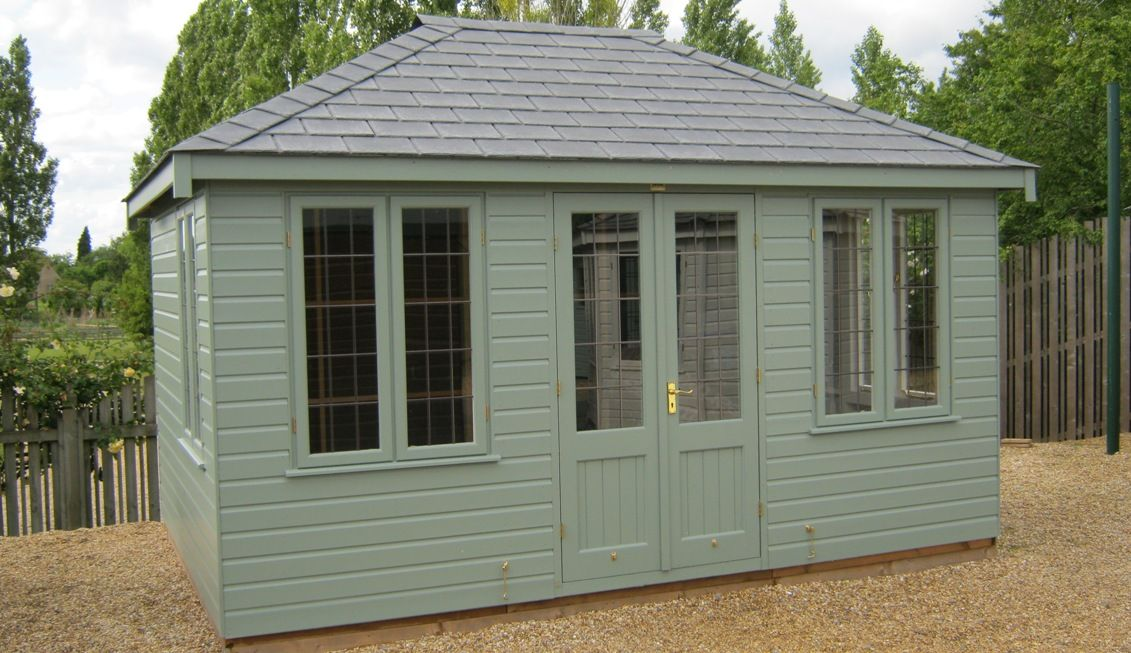 Garden Sheds And Summerhouses 3.0 x 4.2 m cley summerhouse | summerhouses from crane garden