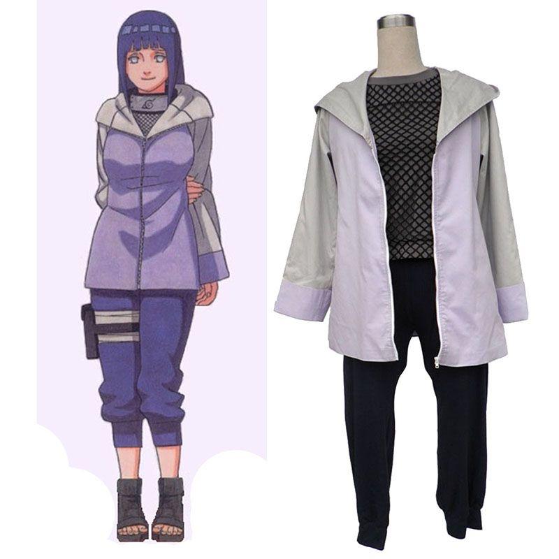 Naruto Hyūga Hinata 3RD Cosplay Costumes