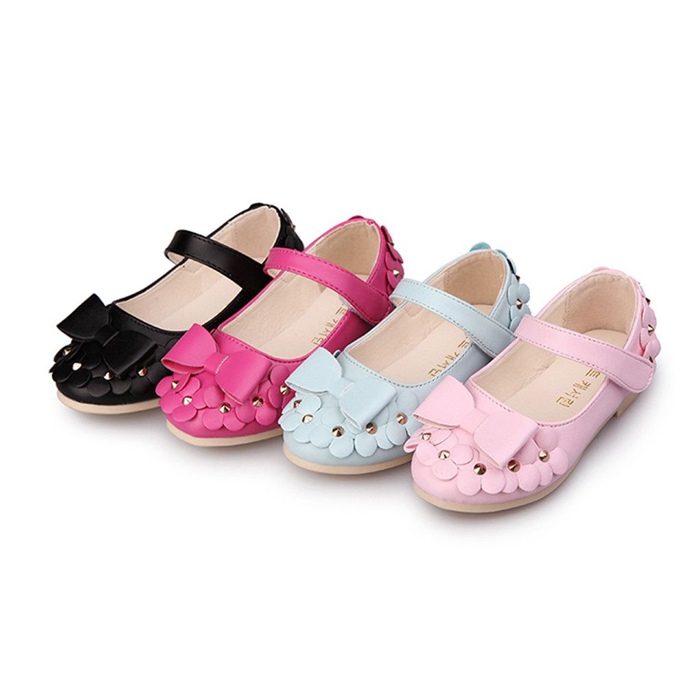 Baby Girls Sandals Soft Sole Princess Flats Bowknot Toddler Summer