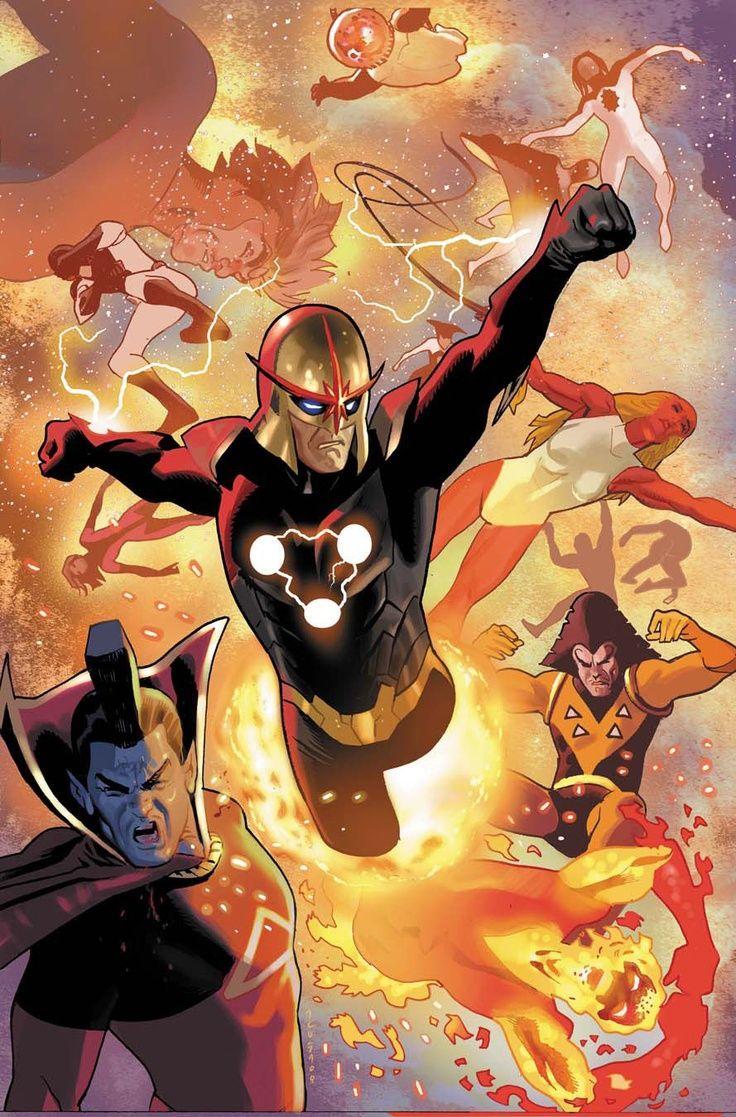 Nova by Daniel Acuña * The Nova Force...   Marvel comics art, Comics, Marvel nova