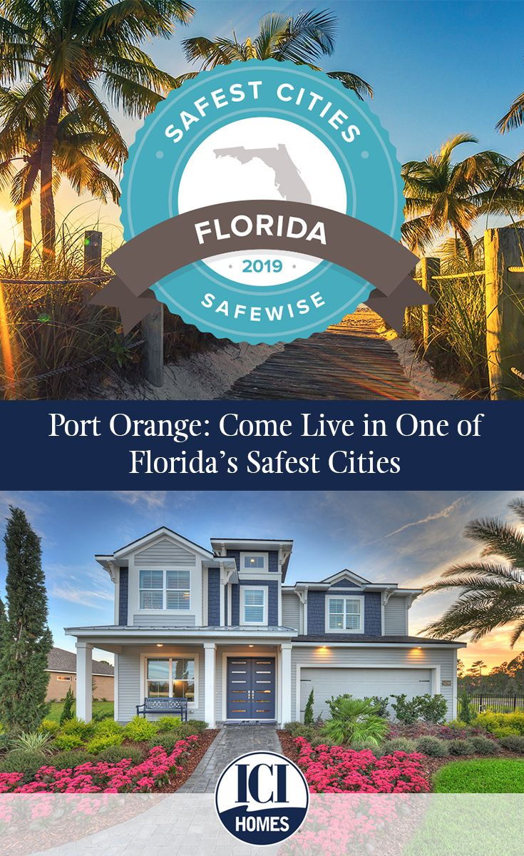 Port Orange's ranking as the second safest city in Florida