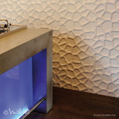 Love the 3d wall panel.....want so bad