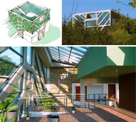 Tree-Inspired House Has Green Canopy & Geothermal Roots | For the ...