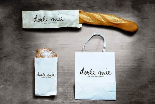 Desain Kreatif Kemasan Makanan Doree Mie Oleh Amanda Girod