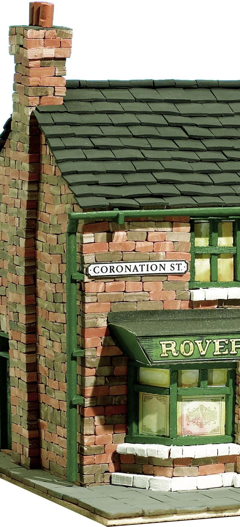 Your Model Home: The Rovers Return From Coronation Street. Build Your Own