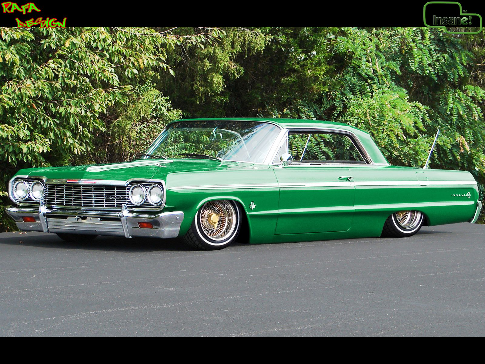This Bad A Here Is A 1964 Chevy Impala Pancaked My Style Of A Ride Lowriders Dream Cars Lowrider Cars