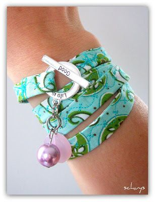 too cute. Great way to recycle clothing or use up the scraps in my fabric box.