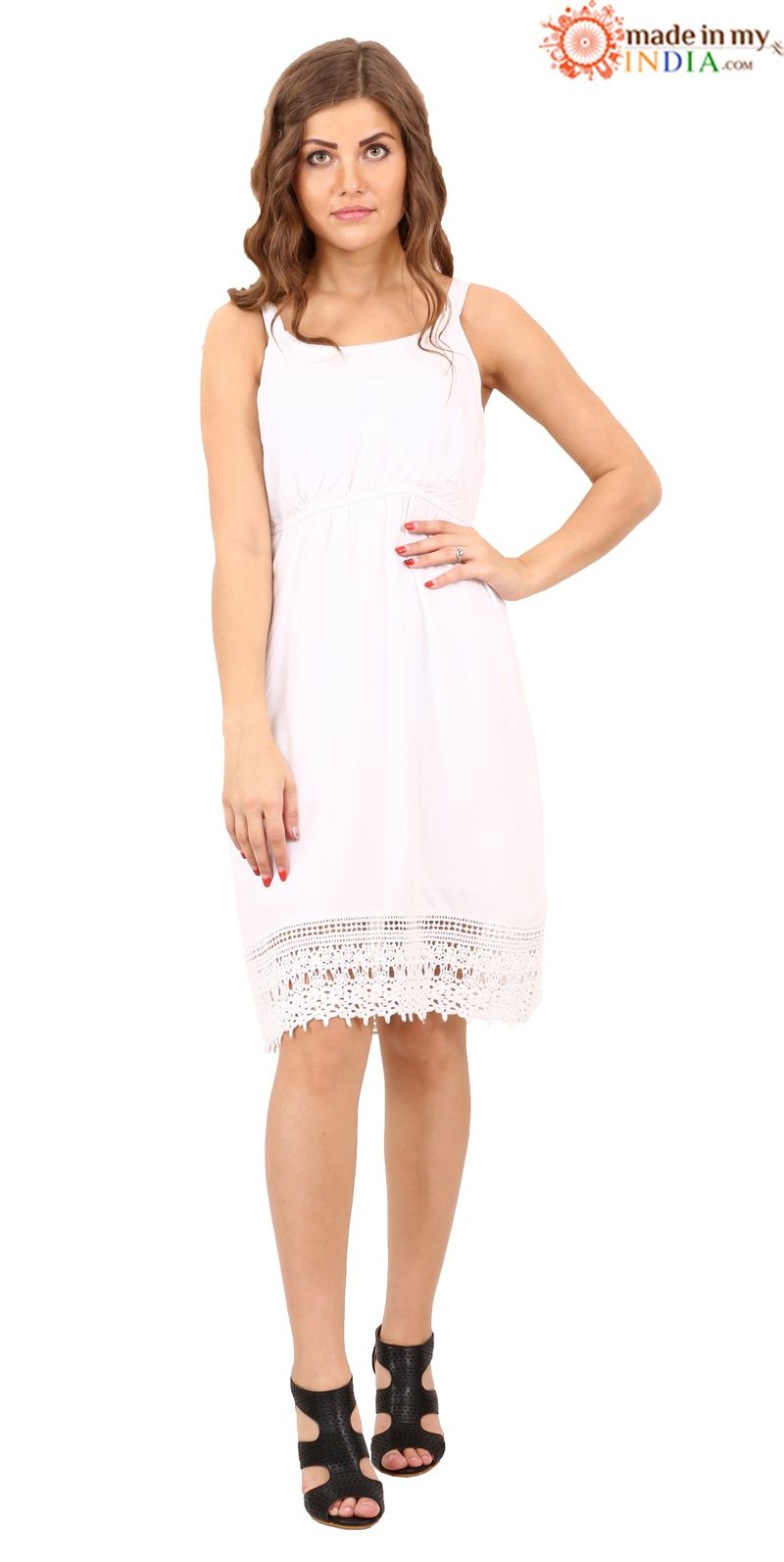 dc8dac32b7011 White Magic ❄ ⛄ Shop This Dress @ madeinmyindia.com Whatsapp at ...