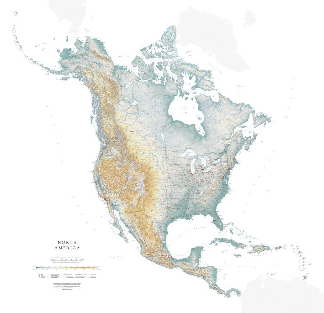 North America Map North America Map America Map North America