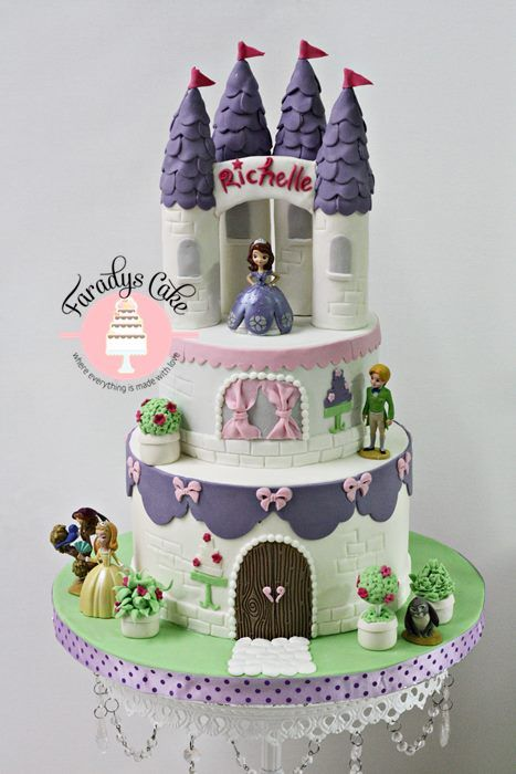 Pin By Christine Johnson On Sofia Party In 2018 Pinterest Cake