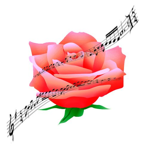 A music club is starting at my friend's school and she asked me to create something w/ a rose & music notes (I understand the notes, but why a rose???) for.... a flyer? I have no idea - haha. I guess I'll upload this anyway.   A pennies on the dollar approach to controlling rose diseases and pests... Get Your Roses Mini-Course For Free Now! http://marisia.com/roses/newsletter034/