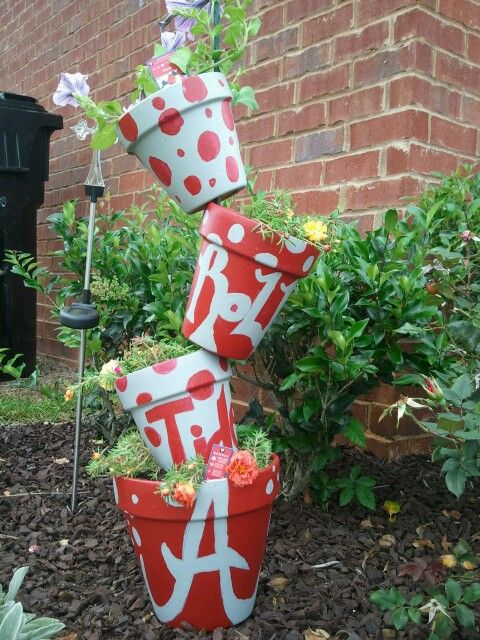 My first pinterest project! Roll Tide :D