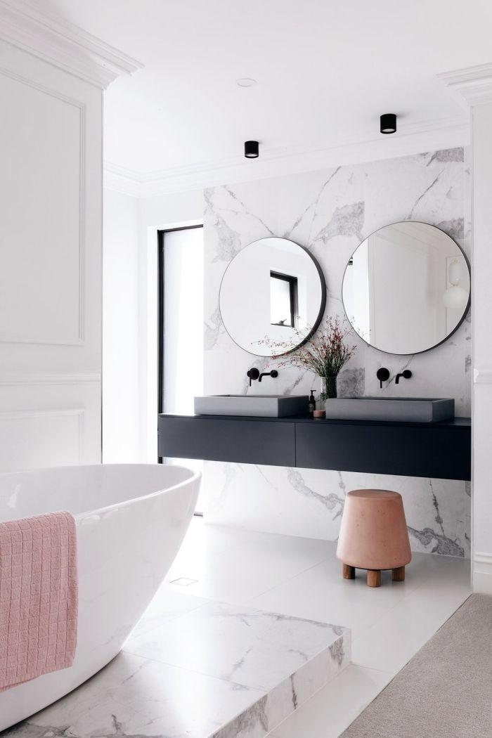 Photo of ▷ 1001 + Ideen für eine ästhetische und funktionale Badrückwand –  Badezimm…