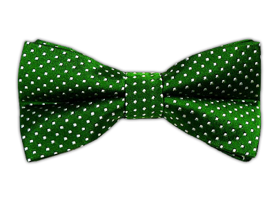 Pindot Kelly Green Green Bow Tie Clip On Bow Ties Mens Bow Ties