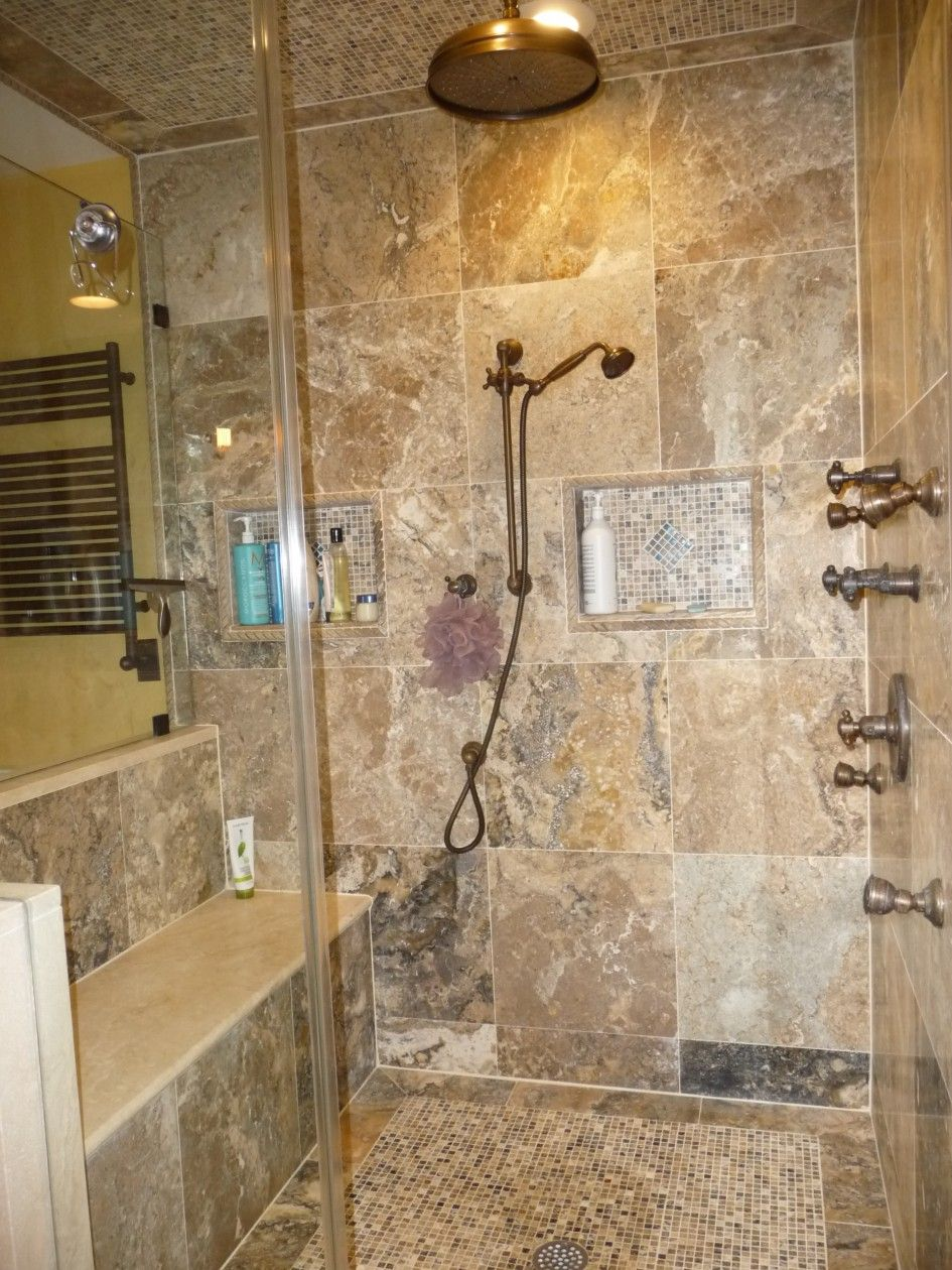 Attractive Vintage Bathroom Tile Patterns With White Fixtures Incredible Patterned Shower Walls And Textured Floors