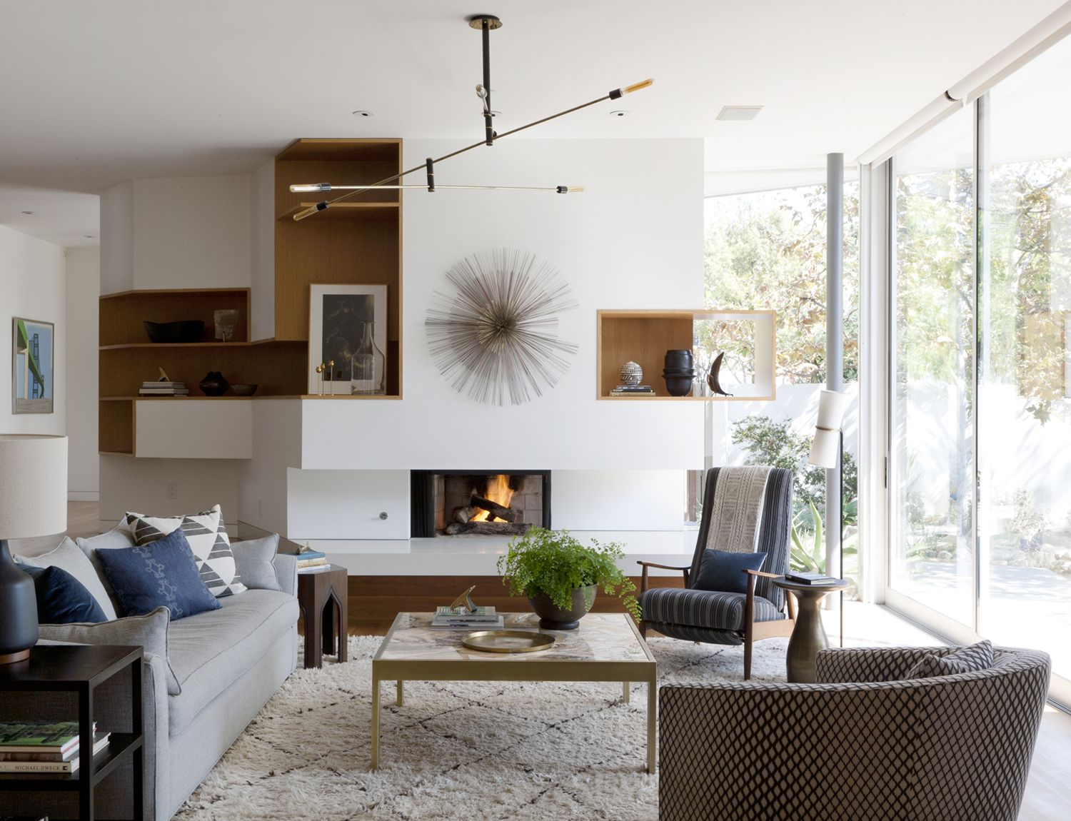 Modern living room designed by disc interiors