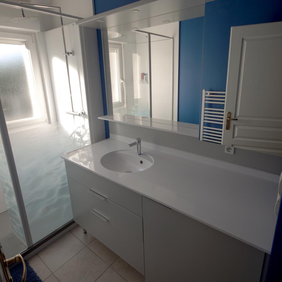agadir  atlantic bain  meuble salle de bains avec lave