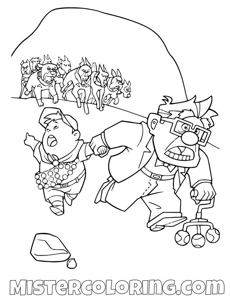 Up Coloring Pages For Kids Mister Coloring Coloring Pages Coloring Pages For Kids Color