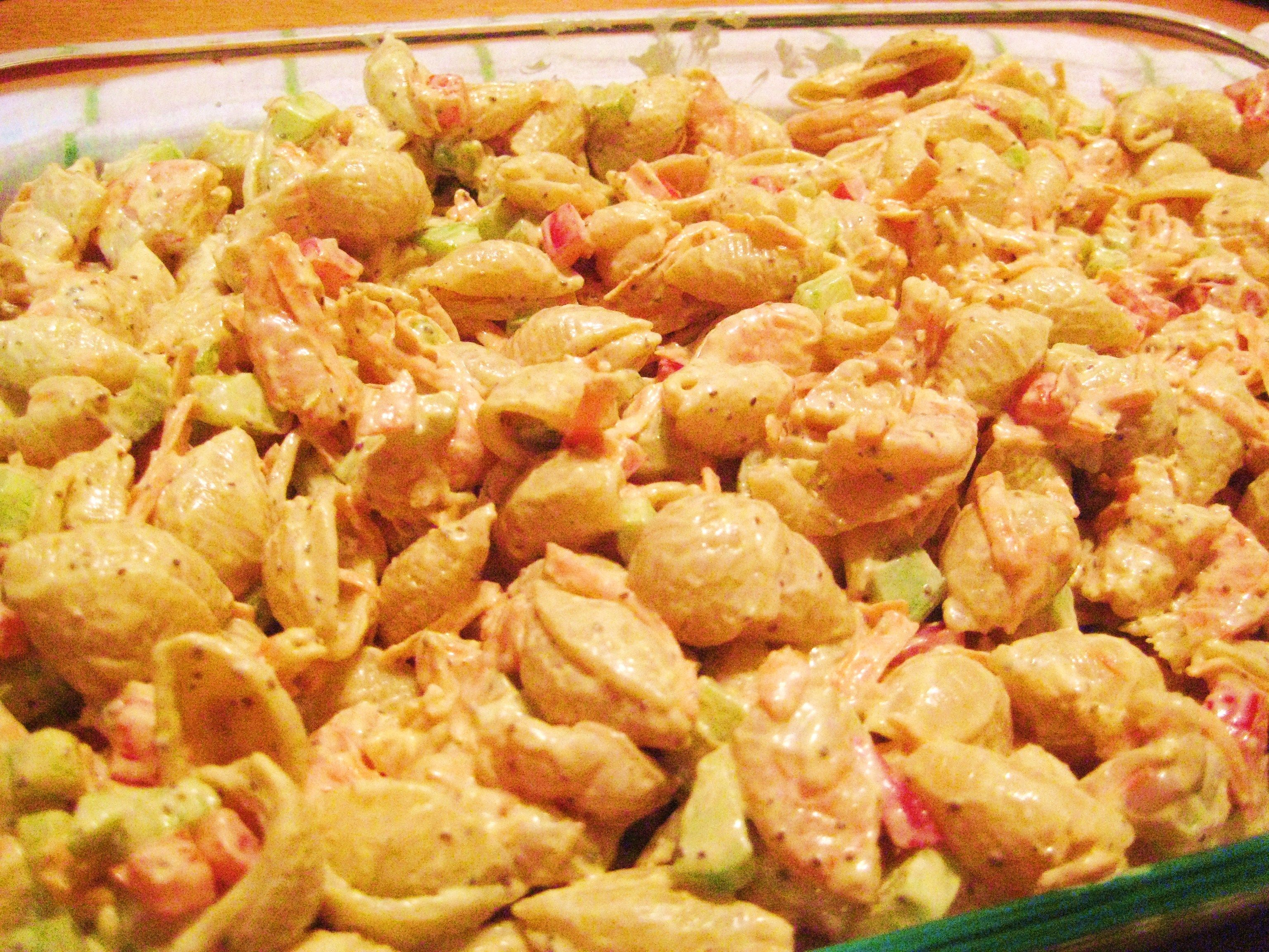 Maryland Macaroni Shrimp Salad Jillian S Kitchen