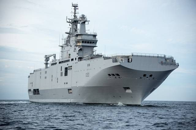 "Egipto recibe su segundo buque LHD ""Mistral"""