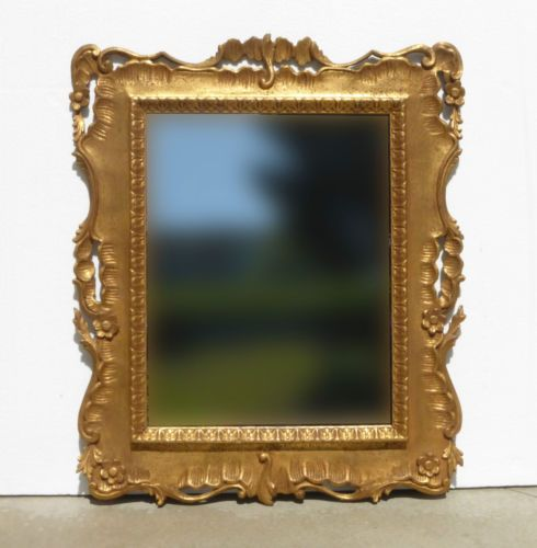 Large Vintage Ornate French Provincial WALL MANTLE MIRROR Country Cottage in Antiques, Decorative Arts, Mirrors | eBay