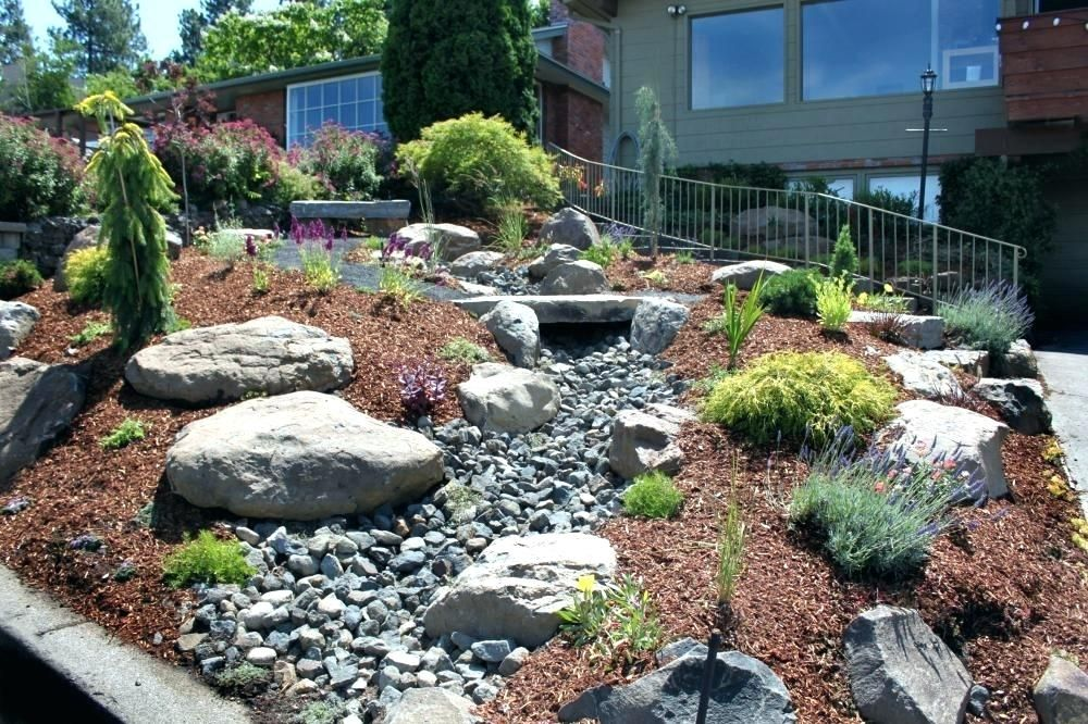Front yard landscape ideas without grass backyard ...