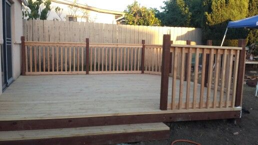 Composite Deck Railing