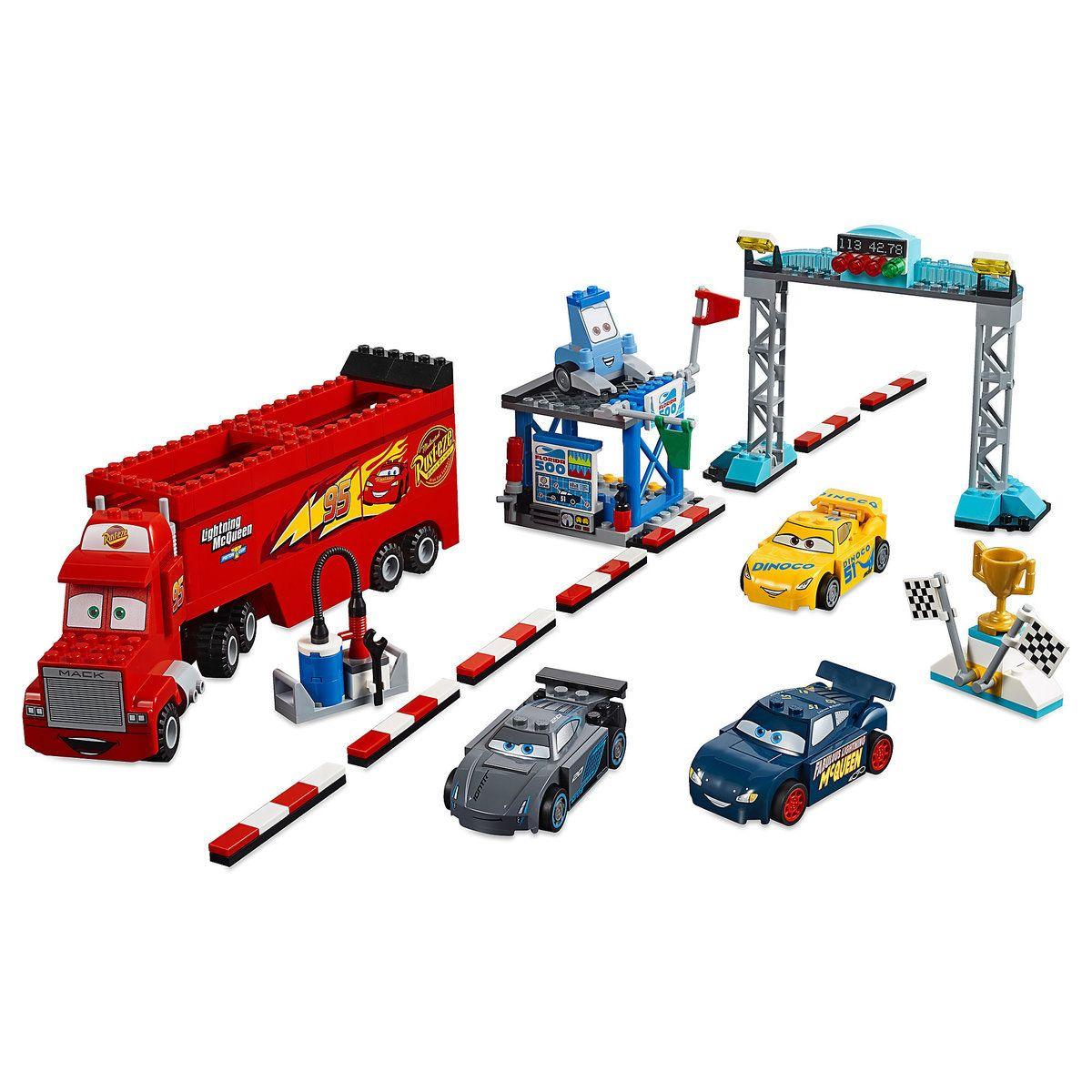 Florida 500 Final Race Playset by LEGO Juniors Cars 3