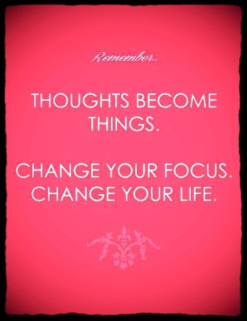 Remember: Thoughts become things. Change your focus change your life! #thoughtoftheday #quotoeoftheday #followtrain #focus #change #life #inspiration #motivation #determination #commitment #strength #positivity #succeed #morning #coffee #starbucks #thoughts #goals #dreams #chance #behappy #behealthy #healthy #entreprenuer #exercise #diet #picoftheday #photooftheday #