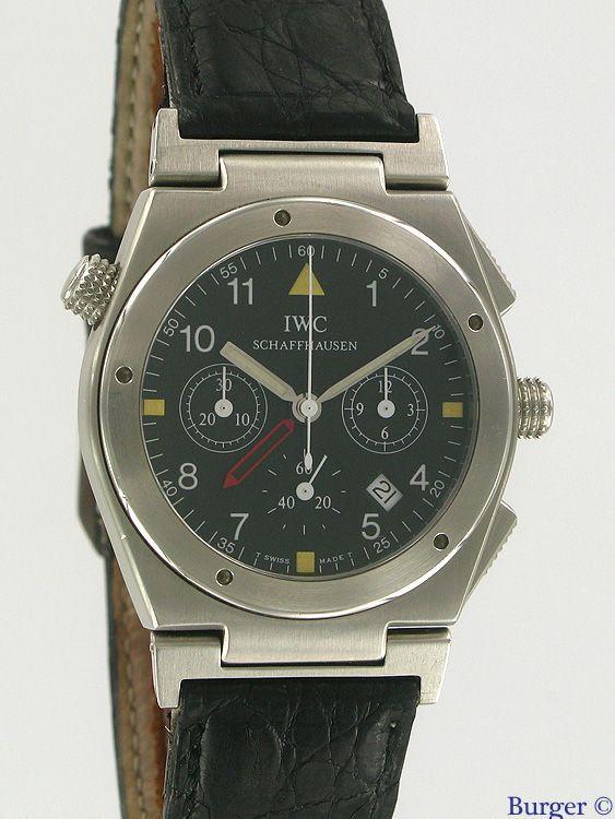 Ingenieur Meca Quartz Alarm (IWC) | Juwelier Burger in Maastricht, specialist in exclusive watches