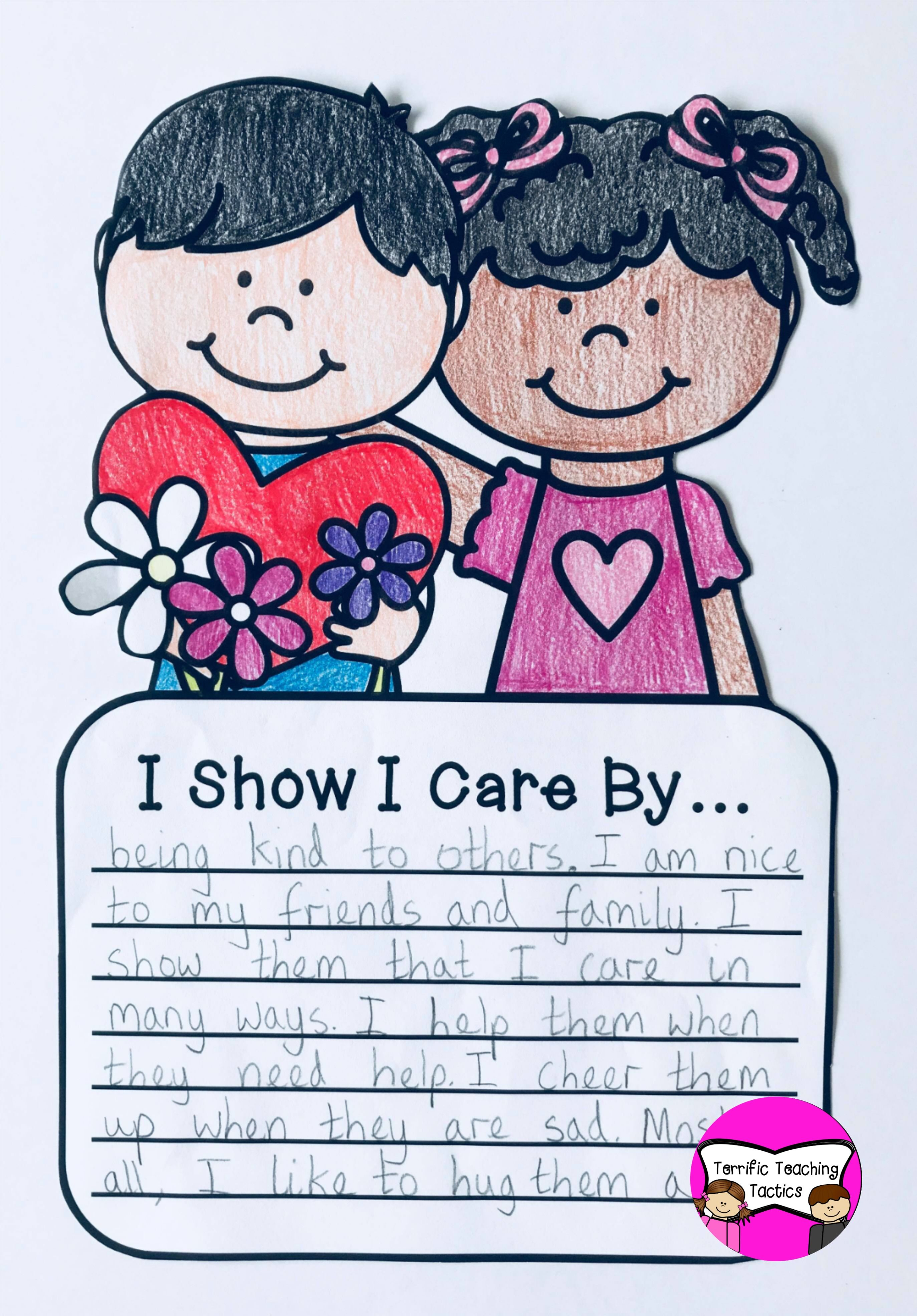 Valentine S Day Writing Prompt Craft Writing Crafts Writing Prompts Craftivity Valentine day writing activities for