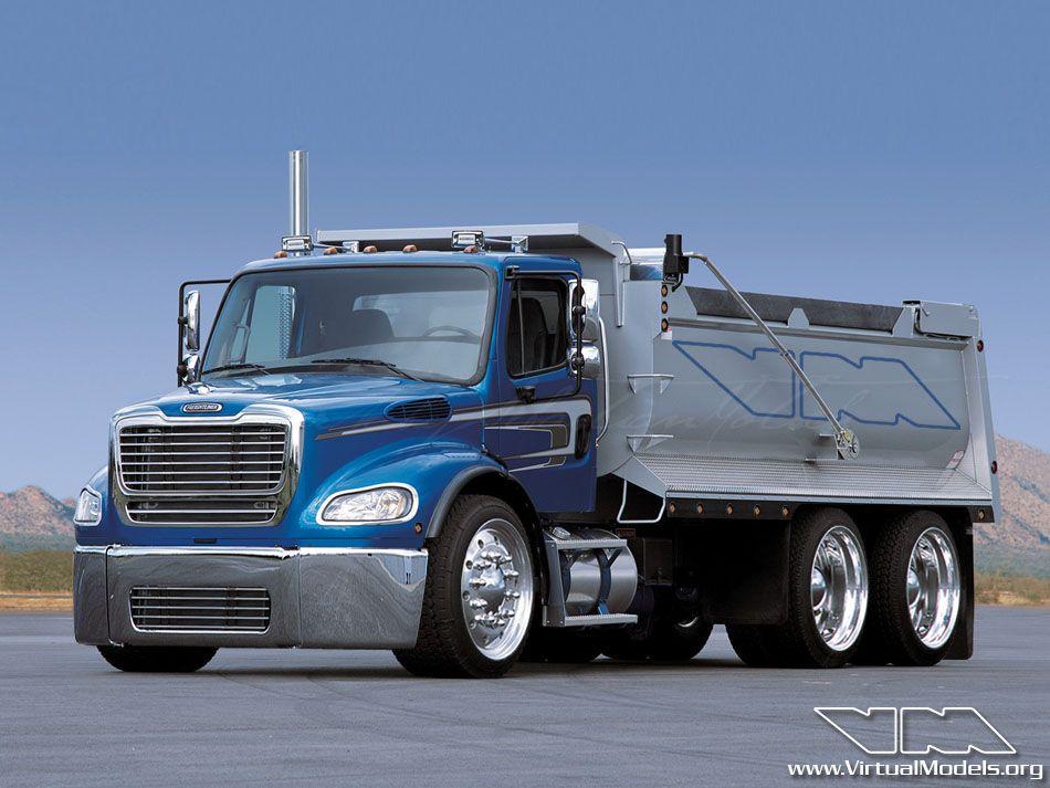Business Class M2 Dump Truck Virtualmodels Freightliner Freightliner Trucks Trucks