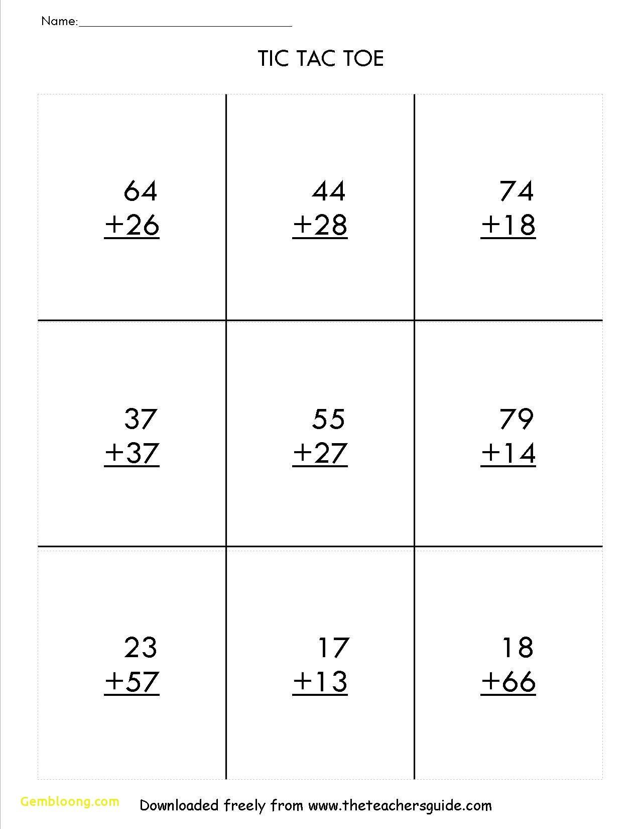 New 2 Digit Addition And Subtraction Worksheets Worksheet Printable 2nd Grade Math Worksheets Math Worksheets 2nd Grade Math
