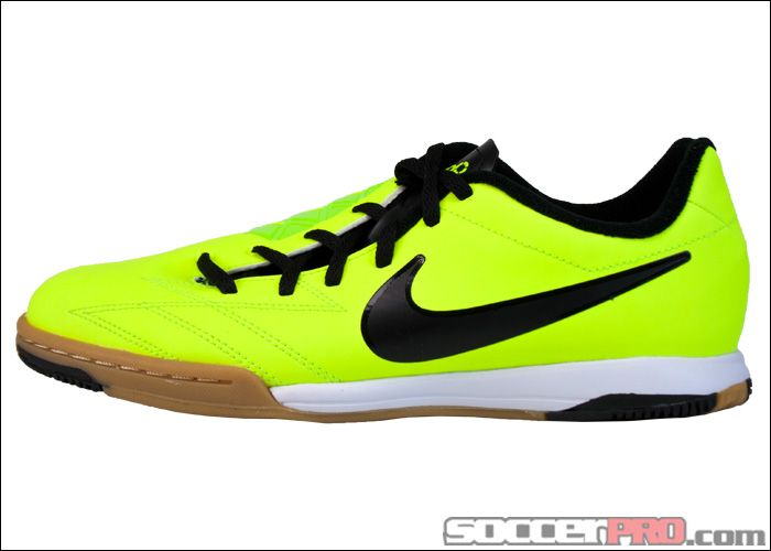 Nike Youth T90 Shoot IV Indoor Soccer Shoes - Volt with Black...$40.49