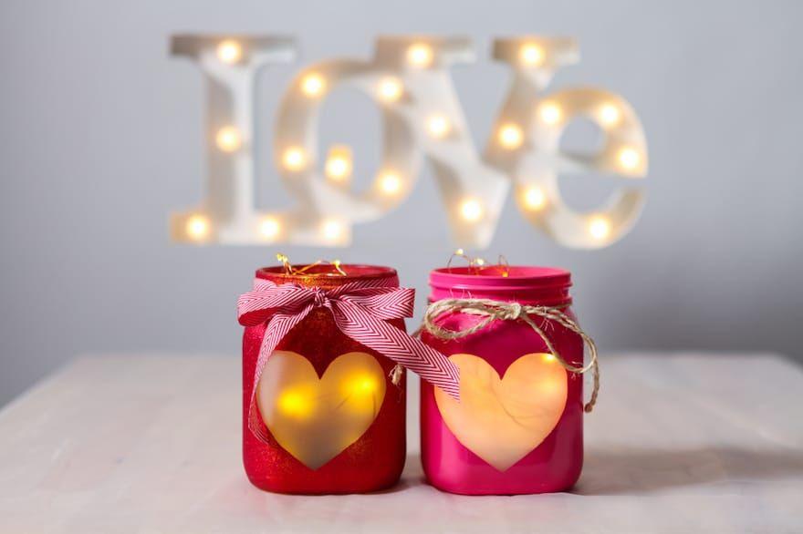 Lanterne Da Giardino Fai Da Te : Lanterna romantica fai da te! 20 idee per la san valentino regalo