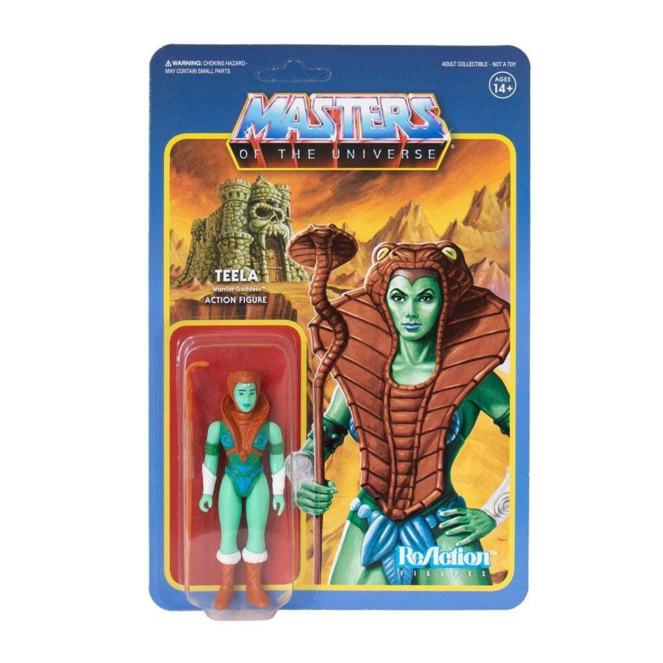 Teela Masters Of The Universe Custom Packaged Mini-Figure Pop Culture Classic