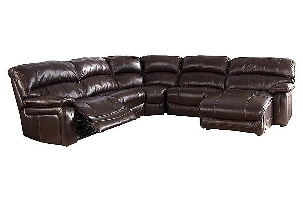 The Damacio - Dark Brown Sectional from Ashley Furniture HomeStore