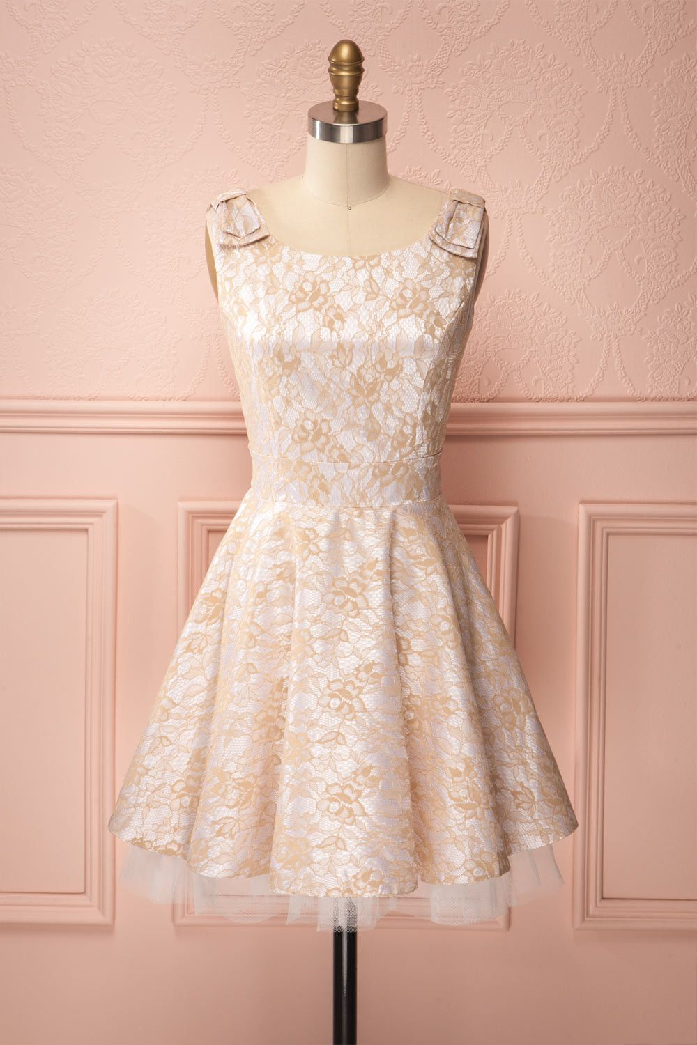 Marceline gold lace boutique and gold