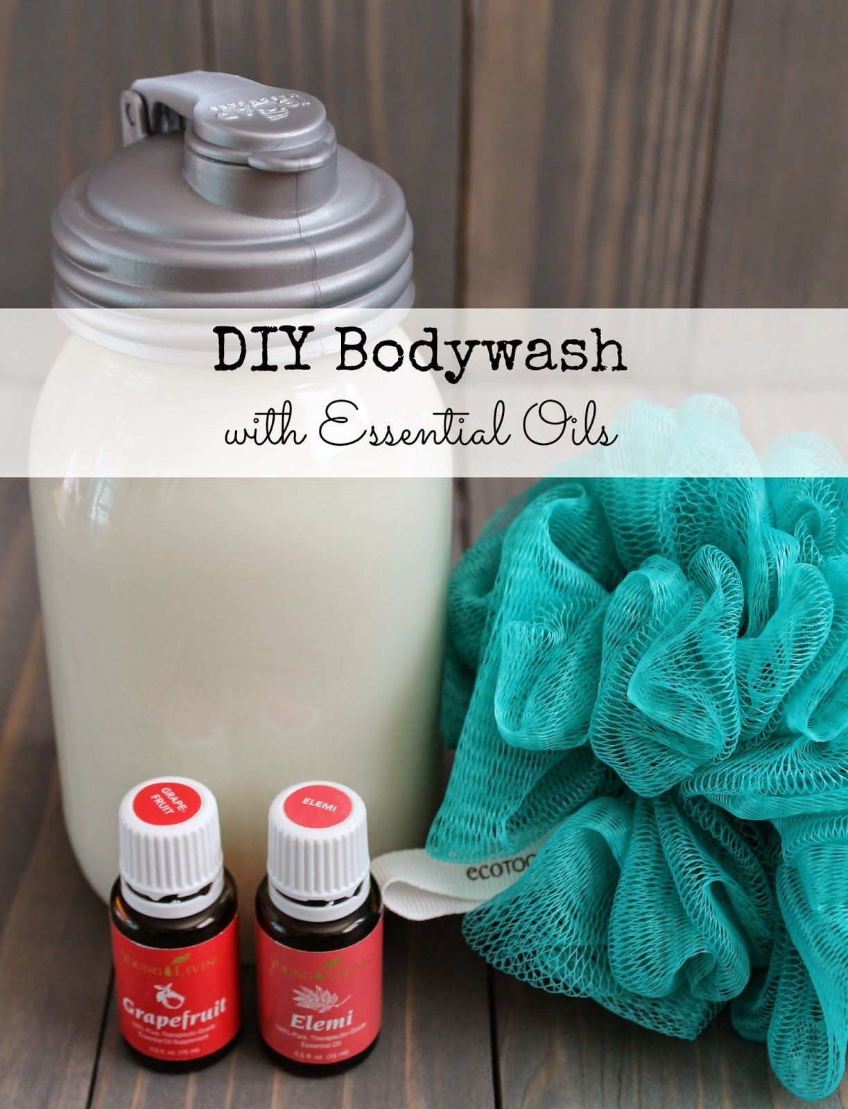 how to make essential oil body wash