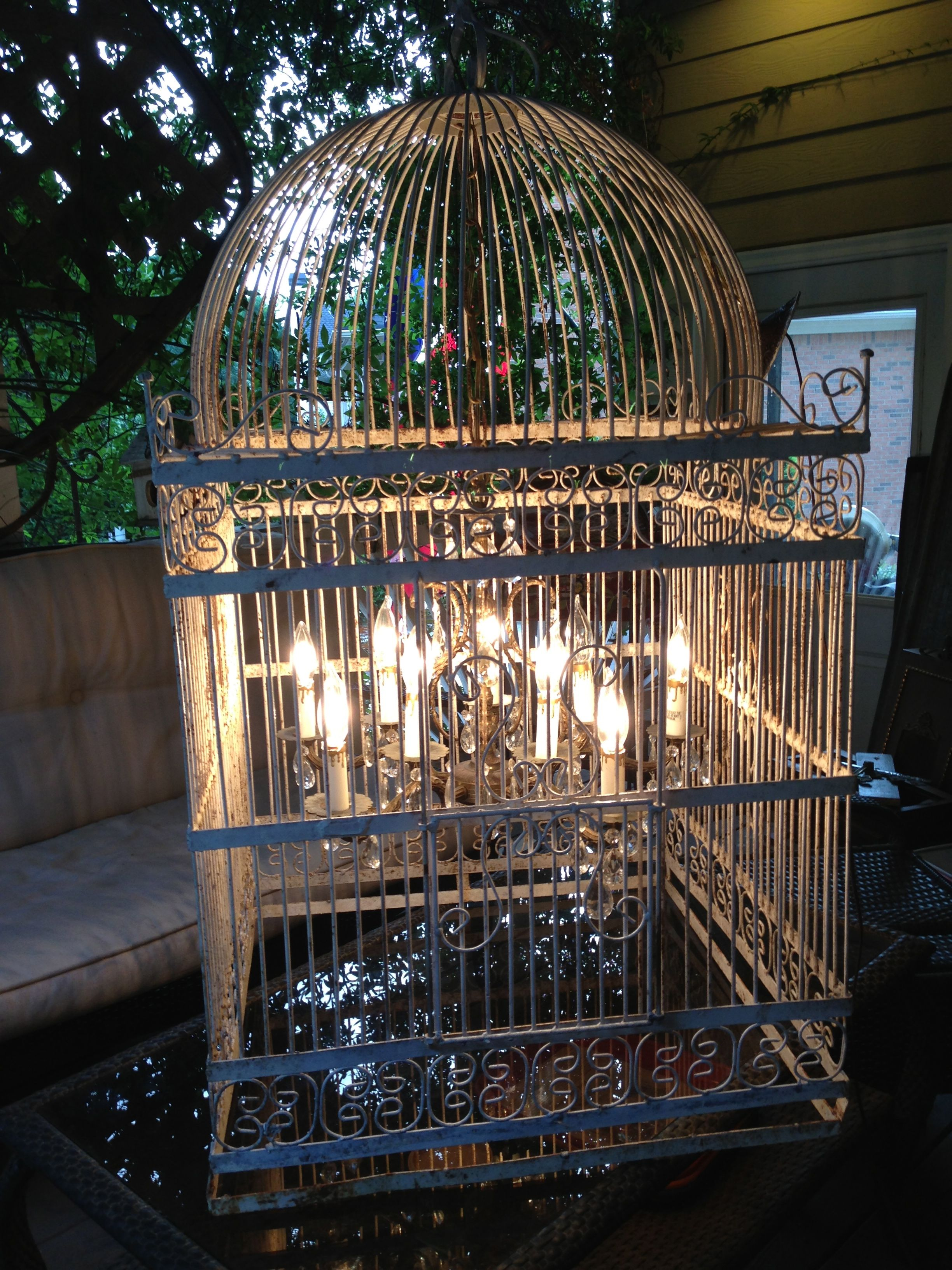 Giant birdcage chandelier For the Home Pinterest – Giant Chandeliers