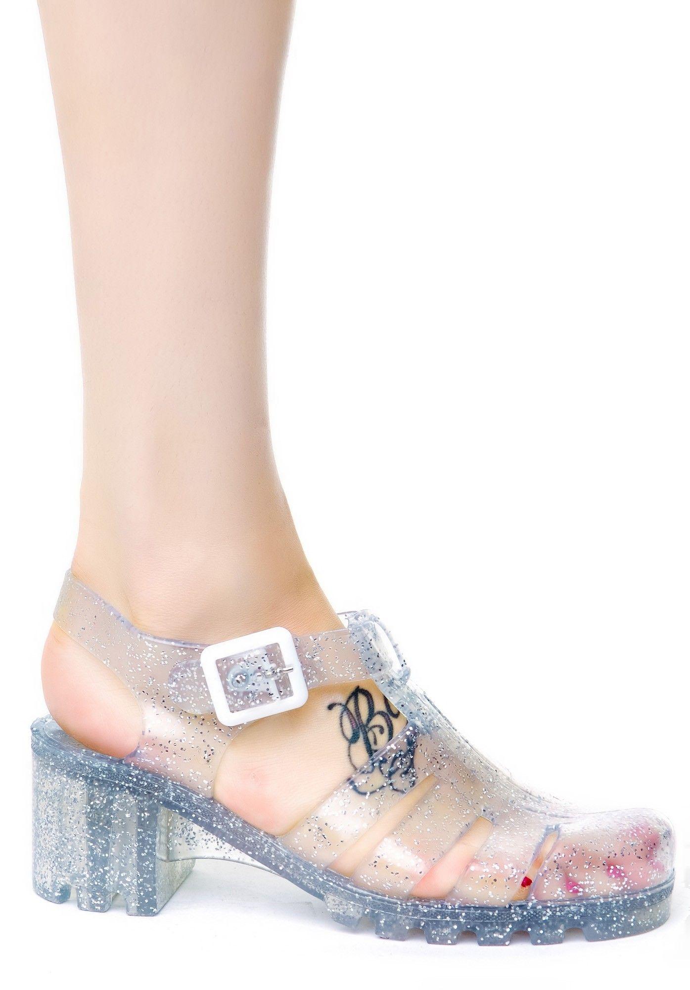 Juju Shoes Babe Jelly JuJu Jellies Dolls Kill kawaii
