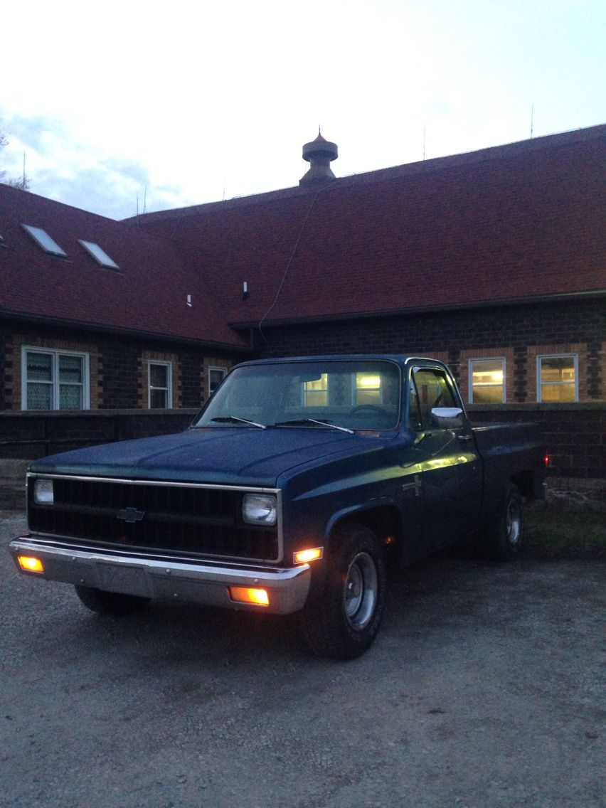 small resolution of love this truck like crazy 1981 chevy c10 scottsdale short bed