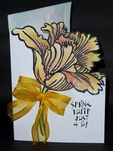 Art with Yogi: MC Mar/13 - Jumbo Tulip - Bri BD