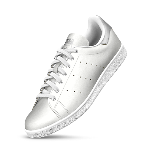 72fadb365bbd4 Stan Smith Silver Metallic - 120E (personnalisées) | Adidas | Adidas ...