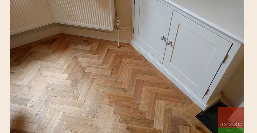If You Want The Look Of A Reclaimed Parquet Floor These Specially