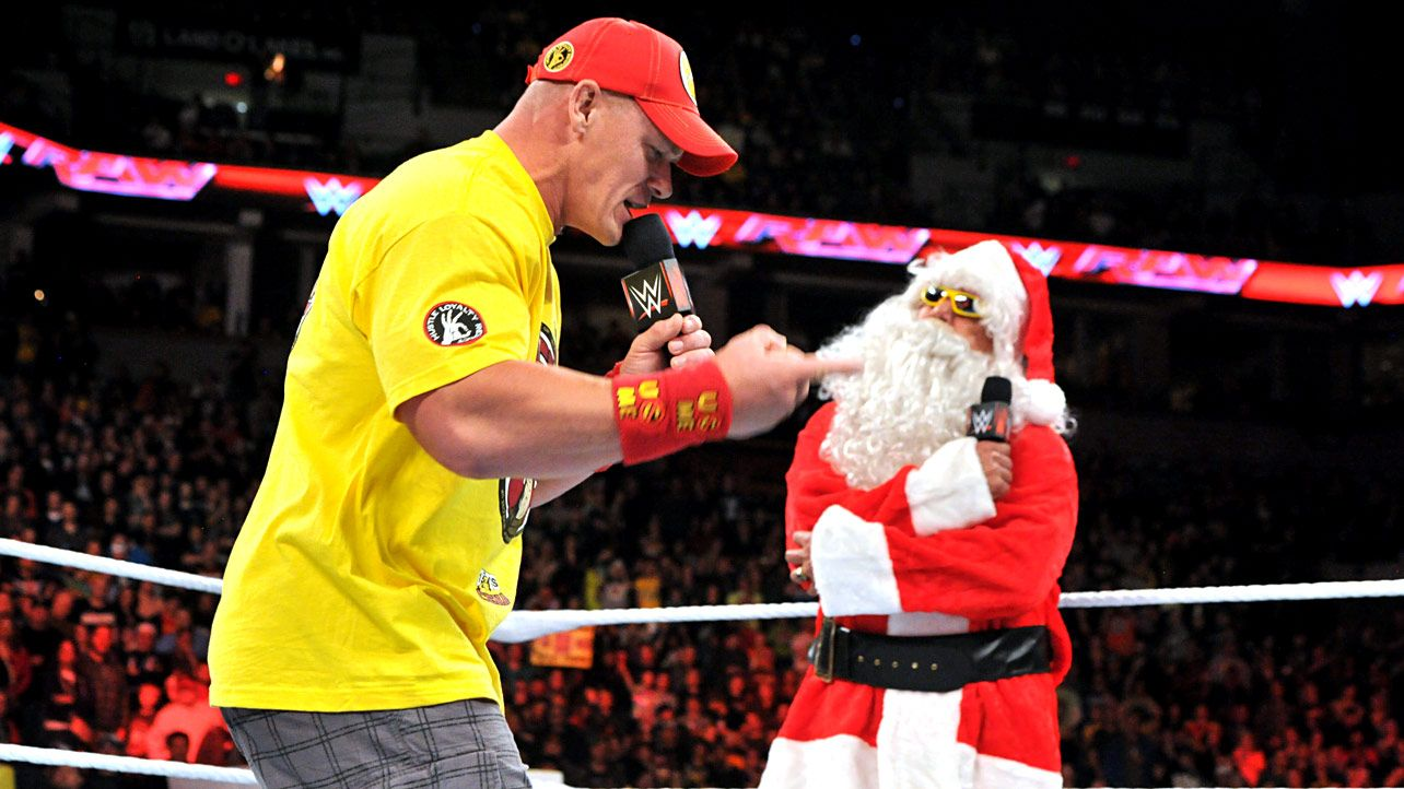 Raw 12/22/14: Ho Ho Hogan kicks off Raw\'s Christmas festivities ...