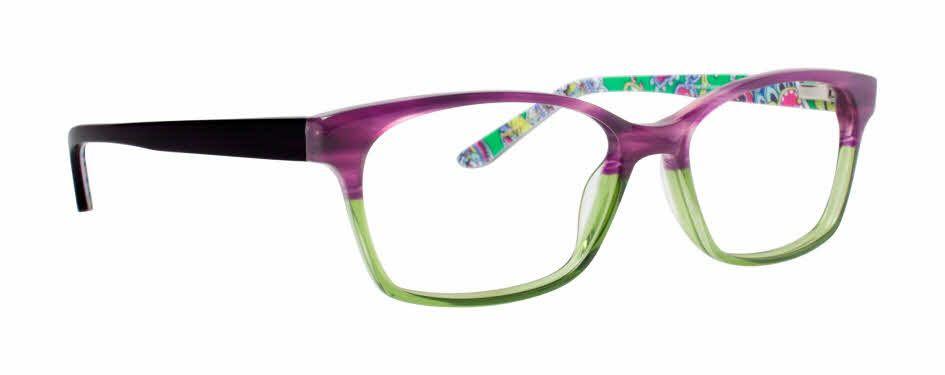 9bb0c7144aa Purple and green Vera Bradley Grace Eyeglasses